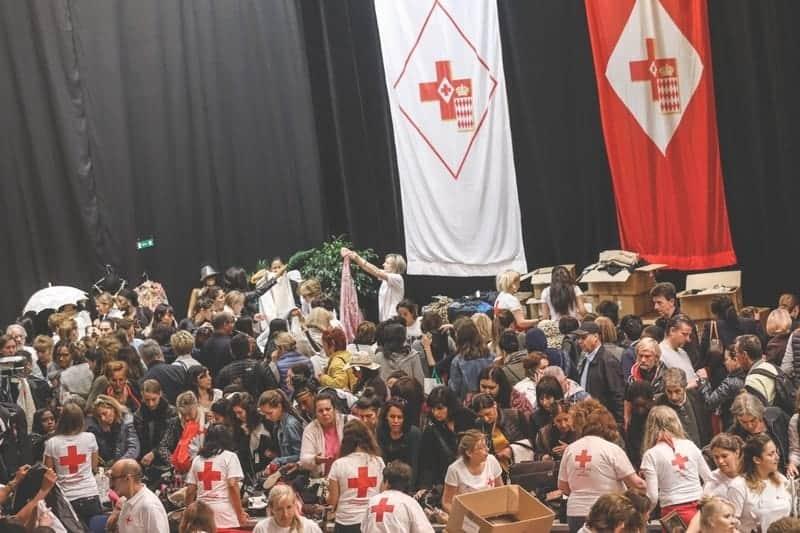Croix Rouge Monégasque, Braderie 2017