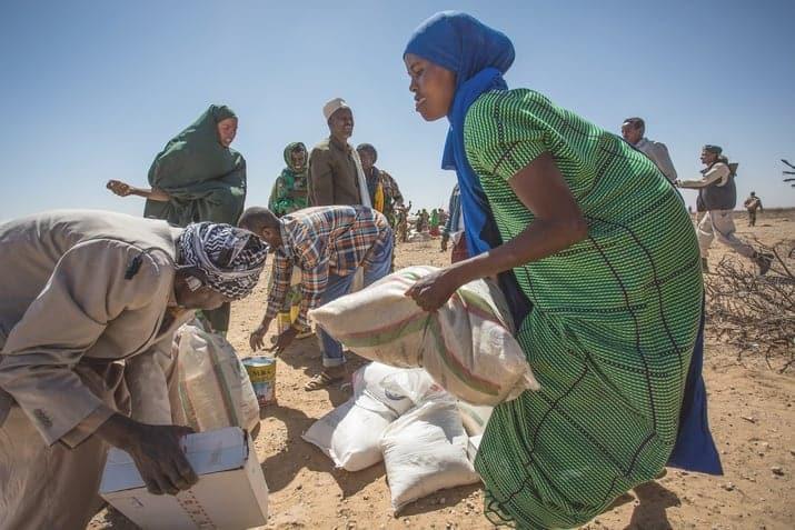 L'Afrique connaît une grave crise alimentaire, la Croix-Rouge s'engage