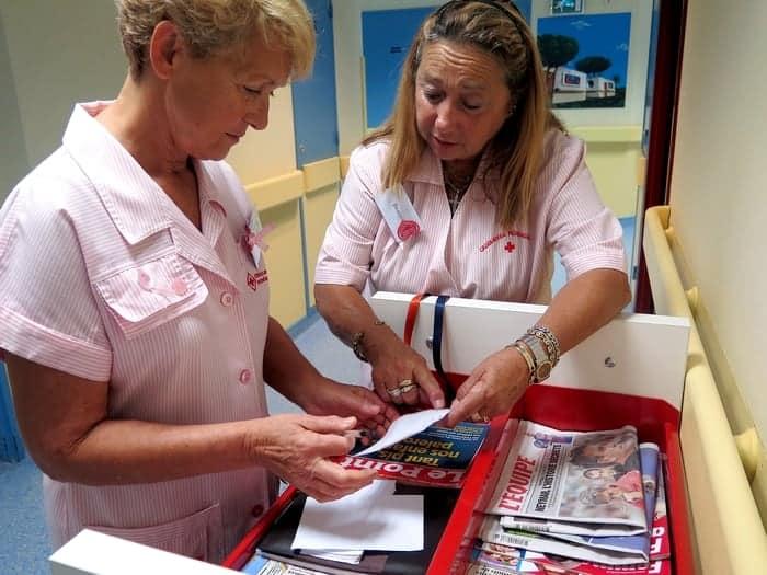 Les personnes hospitalisées peuvent compter sur la Croix-Rouge monégasque : Témoignage