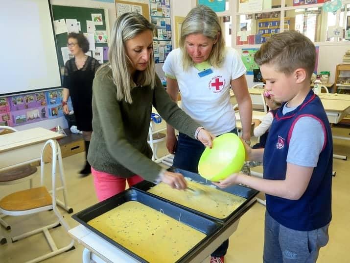 Le Monaco Collectif Humanitaire toujours soutenu par les élèves de l'école FANB de Monaco