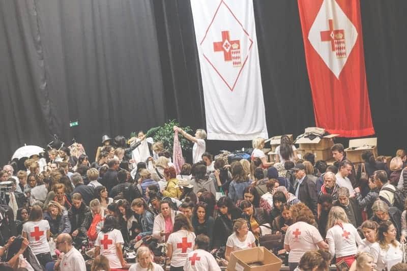 Nouveau succès pour la grande braderie de la Croix-Rouge monégasque