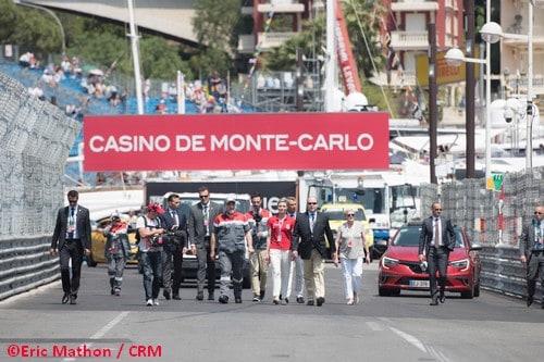 75ème Grand Prix F1 de Monaco – La CRM fidèle au poste