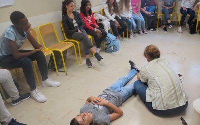 Premiers secours : la Croix-Rouge monégasque forme les  collégiens de la Principauté