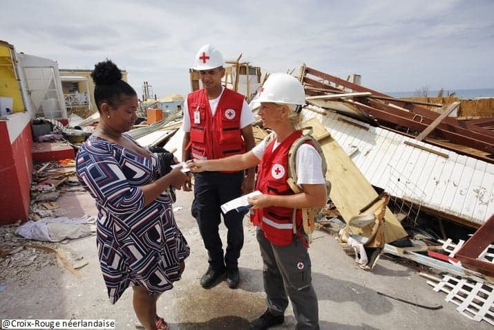 The Monaco Red Cross takes action for the victims of hurricanes Irma and Maria