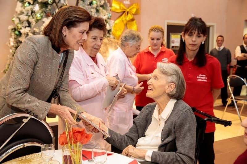 Croix Rouge Monégasque, Cadeaux de fin d'année au CRIII et CHPG