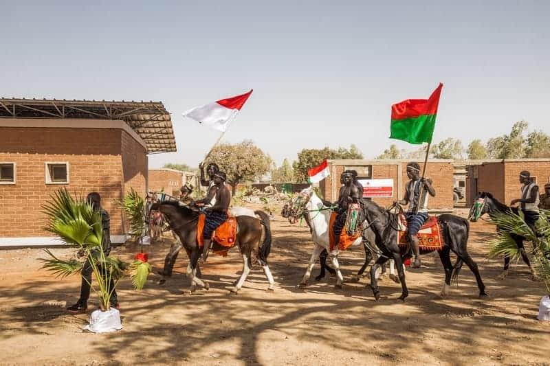 Croix Rouge Monégasque, Projet Loumbila 2018, Burkina Faso, Voyage de la délégation monégasque et inauguration du centre Loumbila