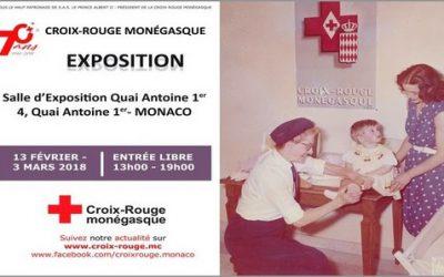 Exposition sur la Croix-Rouge monégasque – 70 ans d'engagement