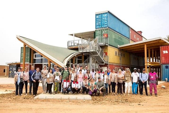 Inauguration du futur centre de formation de Loumbila au Burkina Faso