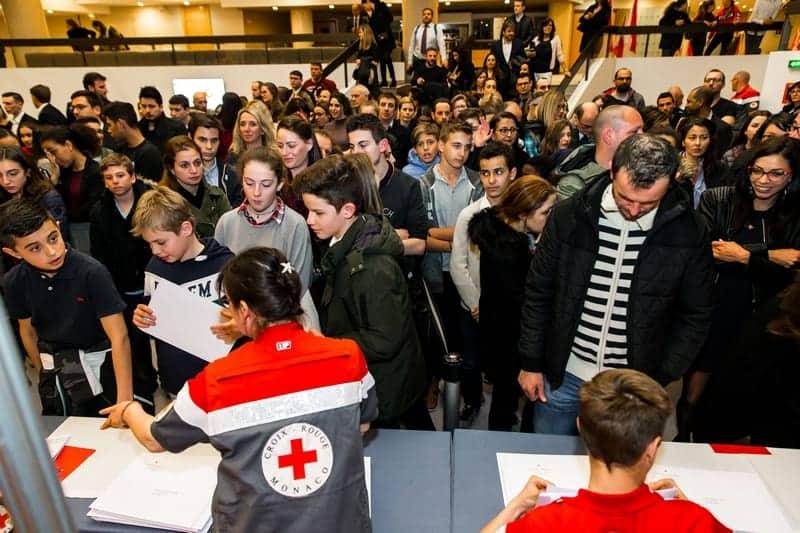 Croix Rouge Monégasque, Ca, Ag et Remise des Diplômes 2018