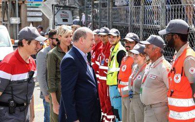 Grand Prix automobile : des secouristes internationaux à la Croix-Rouge