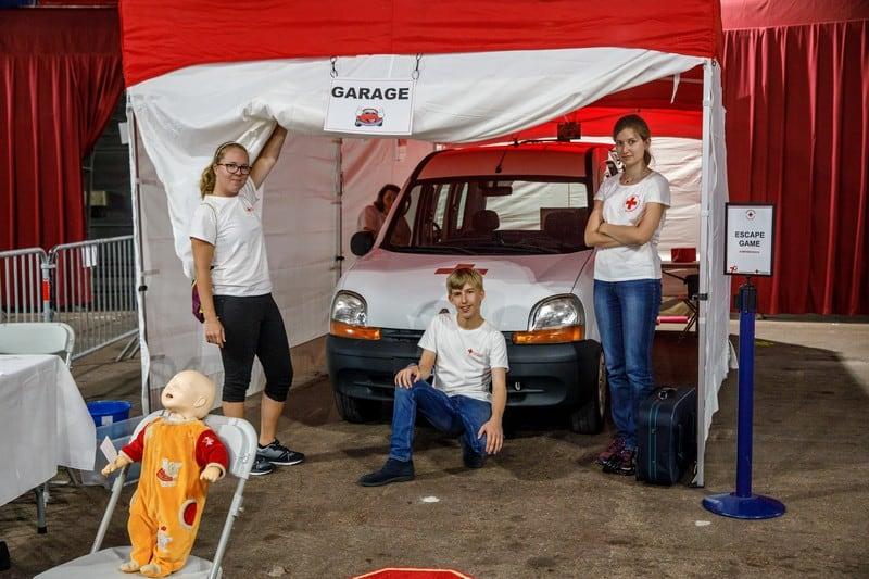 Croix Rouge Monégasque, Journée Mondiale du Secourisme