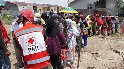 The Monegasque Red Cross helping disaster victims