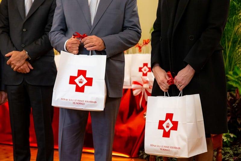 Croix Rouge Monégasque, Remis des Colis pour la fête Nationale