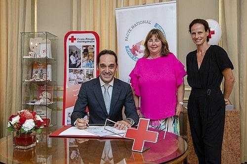 La Croix-Rouge monégasque a signé laCharte d'engagement du Pacte National pour la Transition Energétique
