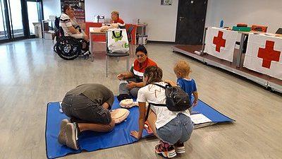 Lutter contre l'exclusion grâce aux premiers secours