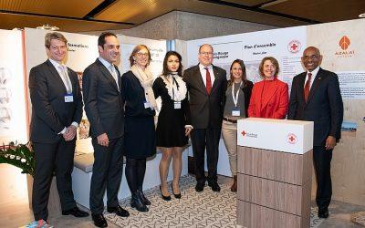 La Croix-Rouge monégasque à Genève pour les réunions statutaires de son Mouvement international