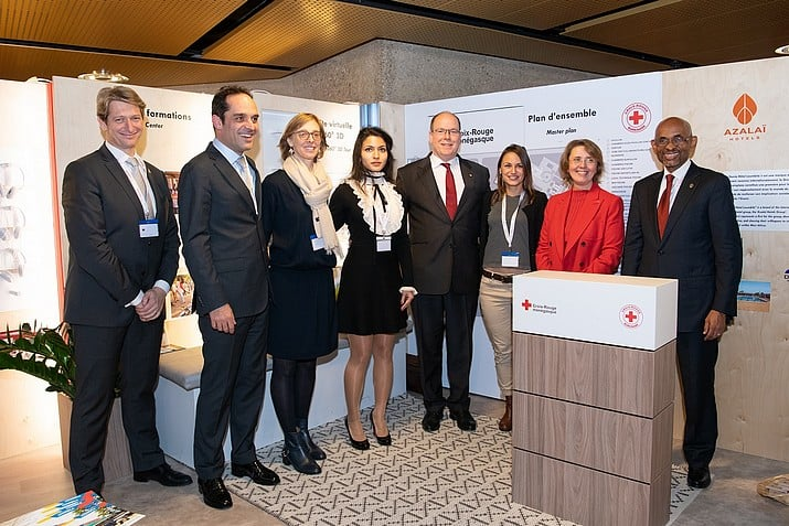 The Monaco Red Cross in Geneva for the statutory meetings of its international movement